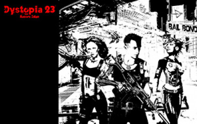 Dystopia 23 Equipment Wallpaper