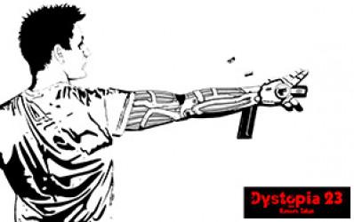 D23 Cyber Arm Wallpaper