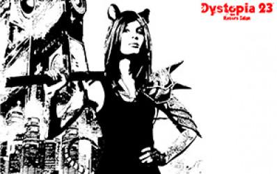D23 Razor Girl Wallpaper